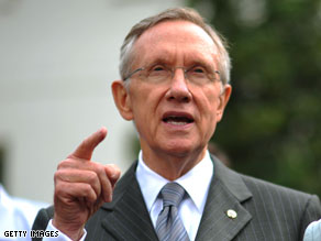 Senate Majority Leader Harry Reid is waiting for the Congressional Budget Office to evaluate the cost of the bill.