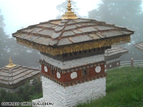 Memorial to the Fallen in Bhutan.