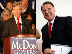 McDonnell and Deeds have 19 days to go until election day in Virginia.