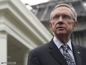 The task of reconciling two Senate health care bills will fall to Senate Majority Leader Harry Reid.