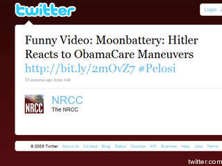 The NRCC tweet before it was removed.