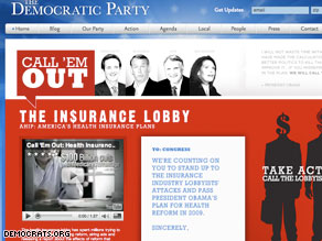 The DNC has created a new Web page and video that criticizes the industry for opposing Obama on this issue.