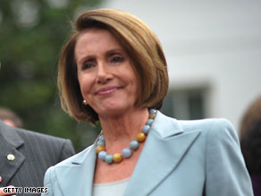 Pelosi steps up defense of public option on health care.