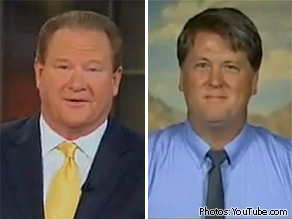 Ed Schultz (L) and Floyd Brown (R).