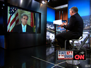 In an interview that aired Sunday, Sen. Kerry said 'the basic assumptions in Afghanistan are very different from those during the Vietnam War.