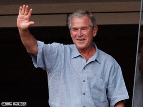 George W. Bush wants to help people &#039;Get Motivated!&#039;.