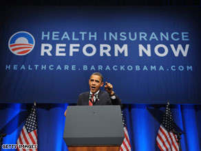 split right down the middle over President Barack Obamas health care ...