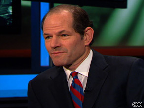 Former New York Governor Eliot Spitzer says Tim Geihtner has not negotiated effectively with the financial industry on behalf of taxpayers.