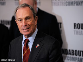 A new poll suggests that Michael Bloomberg holds a 16-point lead over his Democratic rival.