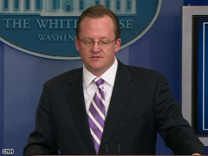 White House Press Secretary Robert Gibbs fired back Thursday at the latest criticism from Dick Cheney.