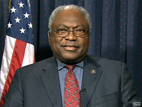 Clyburn said Senate Democrats should move forward even if they don't have 60 votes.
