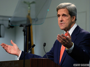 Sen. John Kerry is undergoing hip surgery on Monday.