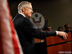Senate Majority Leader Harry Reid told CNN Monday that a budgetary procedure called reconciliation is an option to pass a health care reform bill in his chamber.