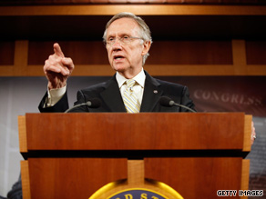 The Senate Majority Leader announced Monday that he intends to move forward with a health care bill that includes the 'opt out' version of the public health insurance option.