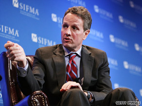 Treasury Secretary Geithner said Tuesday that he expects funds paid out to major banks under the TARP program to come back to the federal government &#039;relatively quickly.&#039;