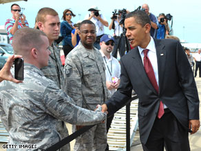 President Obama is scheduled to meet with the Joint Chiefs of Staff on Friday to discuss troop levels in Afghanistan.