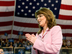 Palin recorded an automated phone call for Virginia voters.