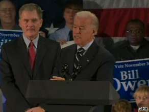 Biden stumped for Owens Monday.