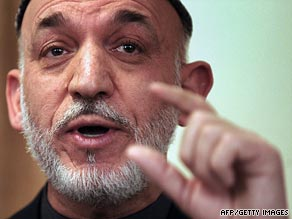 Tell us what you think of Hamid Karzai's re-election as Afghan President.
