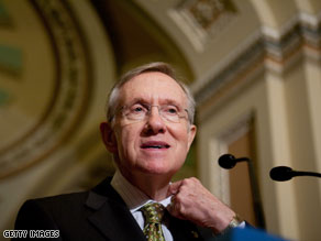Harry Reid is hoping to start debate on Senate health care legislation next week.