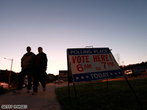 GOP sweeps top state races in Virginia, CNN projects.