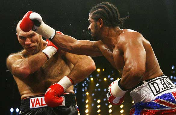 Haye stuck to his game-plan in defeating the one-dimensional Valuev.