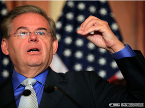 Sen. Menendez said Tuesday that 'Veterans' homelessness is a national disgrace.'