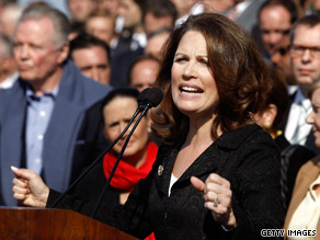 Rep. Bachmann was a main attraction at last week&#039;s event on Capitol Hill.