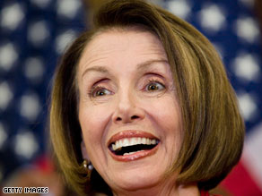 Pelosi weighs in on Mass. senate battle.