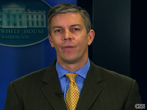 Secretary of Education Arne Duncan says everyone must work together to keep students safe from H1N1.