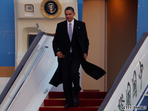 CNN's Ed Henry is traveling with President Obama in Asia.