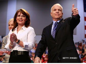 McCain asks staffers to hold their fire on Palin.