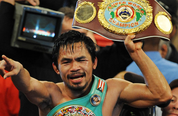 Pacquiao -- the greatest?