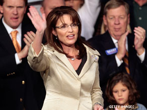 Palin is speaking in Missouri in December.