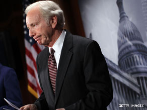 Lieberman told reporters on Capitol Hill that he would begin hearings Thursday.