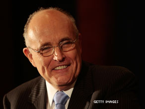 Poll: Giuliani on top in possible 2010 Senate showdown.