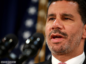 According to a new survey, New York Gov. David Paterson holds a 35 percent favorability rating among New York state voters.