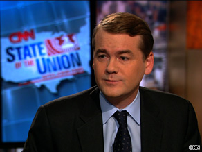Colorado Democrat Sen. Michael Bennet said Sunday that he is ready to lose his seat if that's what is necessary to pass a health care reform bill.