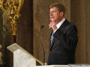  A dispute over abortion between Rep. Patrick Kennedy and his Roman Catholic bishop has highlighted the political volatility of the issue and the challenge it presents to the nation&#039;s Catholics.