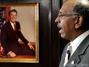 The chief sponsor of a resolution that delineates conservative principles espoused by former President Reagan says the resolution would insulate RNC head Michael Steele from conservative criticism.