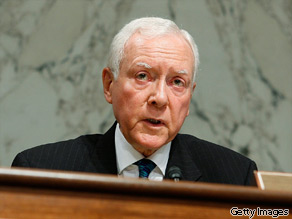 Sen. Orrin Hatch says the Senate health care bill is longer than ''War and Peace.''