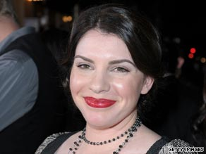 Author Stephanie Meyer attending the Los Angeles premiere of The Twilight Saga: New Moon.