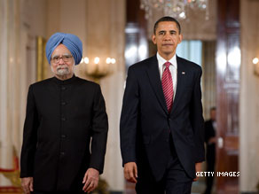 Obama: India-U.S. relations to be a 'defining partnership' for the 21st  century.