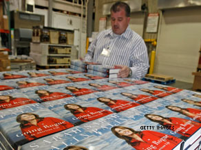 Palin&#039;s book tour continues after the holiday.
