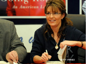 Palin is beginning the second part of a nationwide book tour.