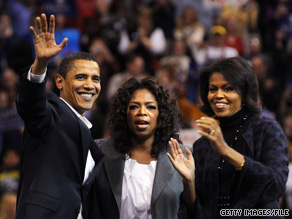 Oprah Winfrey will interview the president and first lady next month for a 60-minute primetime special, the talk show host announced Wednesday.