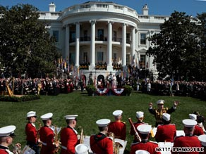 The White House released more of its visitor logs Wednesday.