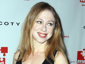 Chelsea Clinton is engaged.