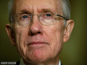 Senate Majority Leader Harry Reid told the White House on Tuesday to 'lay off Las Vegas' after President Obama slighted the city during a riff about government spending.