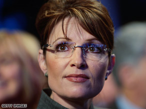 Former Alaska Gov. Sarah Palin delivered a humorous speech at the Gridiron Dinner last December.